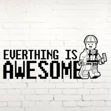 popular awesome decals buy cheap awesome decals lots from china g234 lego awesome wall sticker vinyl wall art decal transfer kids children children s room