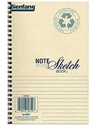 amazon com bienfang 8 1 2 by 11 inch notesketch pad with