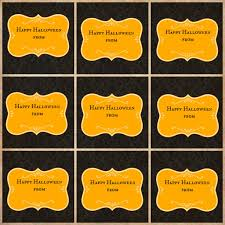 free printable halloween labels 8 best images of halloween food label template halloween food