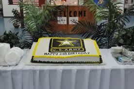 dvids images official army birthday cake at camp bondsteel