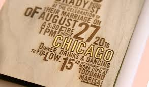 chicago wedding invitations brady invitation custom gallery anticipate invitations