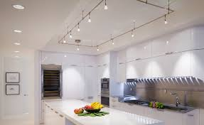 kitchen cool kitchen track lighting low ceiling modern fixtures