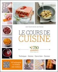 livre cours de cuisine le cours de cuisine 750 grammes toutes les littératures sont sur