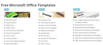 best websites with microsoft word templates