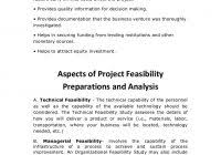 technical feasibility report template information technology feasibility report templateprofessional