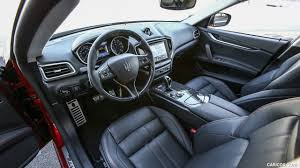 black maserati ghibli 2017 maserati ghibli sq4 sport package interior hd wallpaper 23