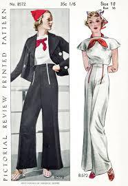 sailor blouse 30s 1930s repro vintage s sewing pattern sailor blouse