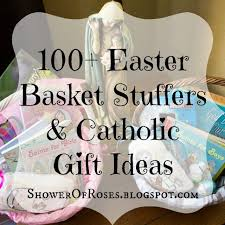 catholic gifts and more shower of roses 100 easter basket stuffers catholic gift ideas
