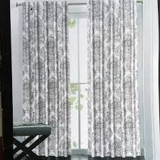 Black And Gold Damask Curtains by Amazon Com Tahari Window Panels Curtains 52 By 96 Inch Set Of 2