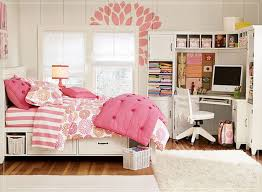 decor pretty room ideas using trundle bed and cool desk for