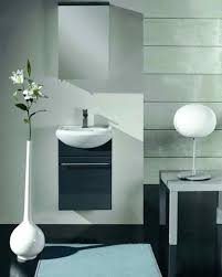 porcelain wall mount sink small bathroom vanities and sink you can crunch into even the teeny