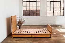 Platform Bed Headboard Atlas Industries