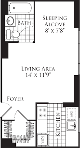 Hearst Tower Floor Plan by Longacre House Apartments In Midtown 305 West 50th Street