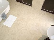 are shiny floor tiles more slippery than matt floor tiles