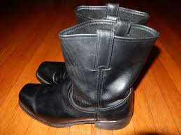 short black motorcycle boots vintage frye black leather motorcycle boots square toe short men s
