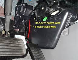 sub and amp install power wires etc 3rd gen
