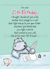 25th birthday card quotes quotesgram 26 best age birthday cards images on birthday greeting