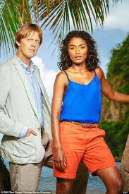 kris marshall leaves in paradise daily mail