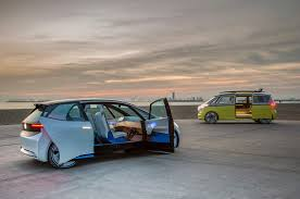 volkswagen electric concept volkswagen i d buzz concept review driving vw u0027s electric