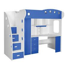 Jysk Bunk Bed Loft Bed White Blue