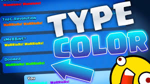 clash royale how to type in color youtube