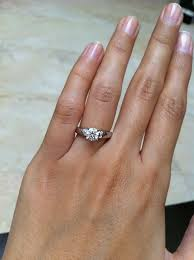 lazare diamond review carat size difference for size 4 25 4 50 fingers preferrably