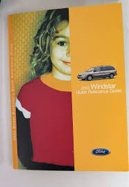 2003 ford windstar owners manual guide book bashful yak