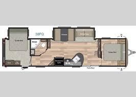 Rv 2 Bedroom Floor Plans 30 Best Campers Images On Pinterest Keystone Rv Travel Trailers