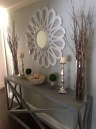 Decorating Narrow Entryway Contemporary Console Hall Table Lamp Narrow Entryway Inside Design