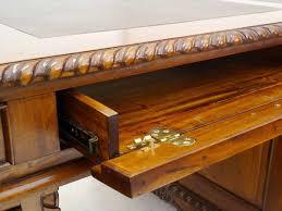 Aufklappbare Schreibtische Schreibtisch Eckschreibtisch Büromöbel Partnerdesk Antik Stil