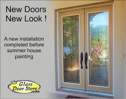glass door tampa stratford traditional glass door insert in silver or antique brass