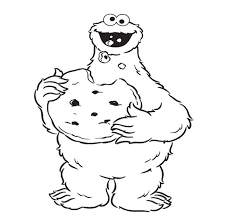 kids cookie monster coloring book exterior gallery coloring