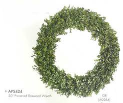preserved boxwood wreath 30 inch preserved boxwood wreath green