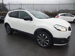 nissan white used nissan qashqai 360 white cars for sale motors co uk