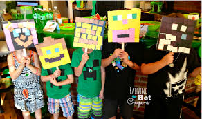 minecraft birthday party the best minecraft birthday party ideas besides just sitting around