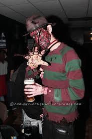 Freddy Krueger Halloween Costume Kids Homemade Freddy Krueger Costume