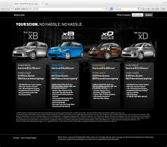 toyota financial website scion pure price landing page jpg