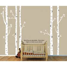 tree wall decals with large sticker for play rooms birch tree wall decals with large sticker for play rooms