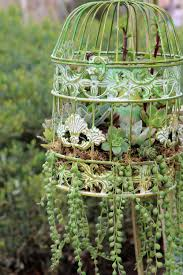 Make A Brick Succulent Planter - 14 diy alternatives to traditional planters planters bird cages