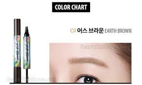 clio tattoo eyebrow pen beauty box korea clio tinted tattoo kill brow special set 2017