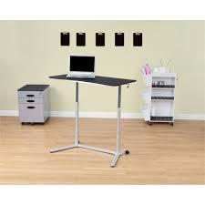Jesper Sit Stand Desk by Calico Designs Sierra Adjustable Height Desk Walmart Com