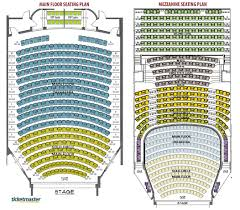 seating plan flagstar strand theatre pontiac