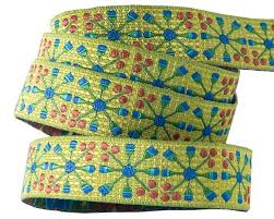 wholesale ribbon buy ribbons blue flower wheel on green sue spargo renaissance