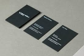 business card design inspiration no 4 u2014 bp u0026o black business card