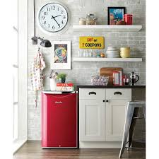 danby contemporary classic u003c br u003e4 4 cu ft red all refrigerator
