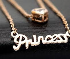personalized necklaces for women princess heart charm necklace for women personalized necklace