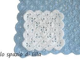 tutorial piastrelle uncinetto lilla s tutorials la piastrella crochet a ventaglietti the