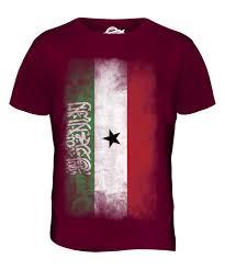 Flag Clothing Somaliland Faded Flag Mens T Shirt Tee Top Football Gift Shirt
