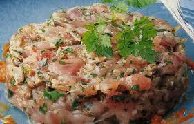 comment cuisiner le thon frais tartare de thon frais saveurs et couleurs