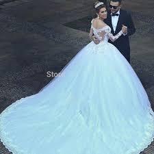 robe de mari e de princesse de luxe 2016 nouveau luxe vintage manches longues en dentelle de mariage